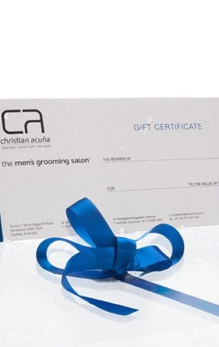 Gift Voucher for Men