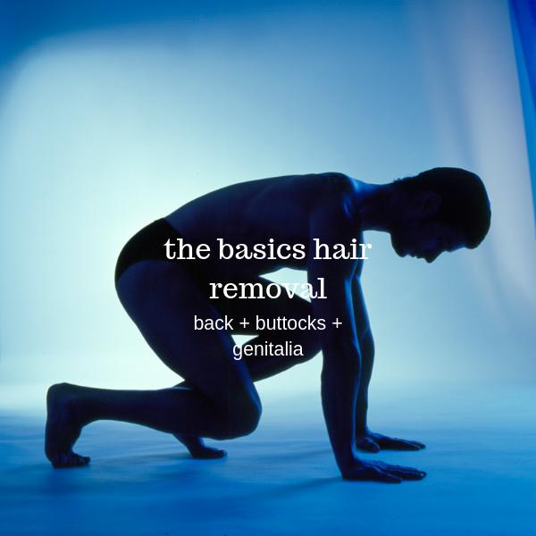 back, balls, genitals, crack, buttocks hair removal for men in Paddington Sydney