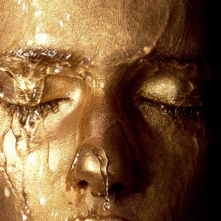 gold mask for men